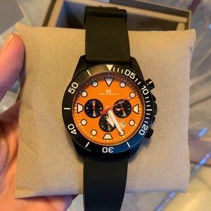 IOB Oceanaut OC1312 Naval Chronograph Black Watch